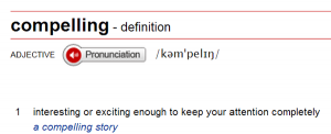 Compelling story dictionary
