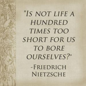QUote from Nietzsche proving that speaking can make you a better writer.
