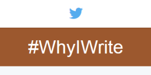 why I write what I write twitter screen capture